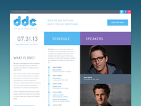 Branding: DDC Website Homepage design