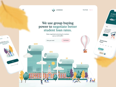 Case study is live! green website webdesign branding identity illustration banking fintech case study