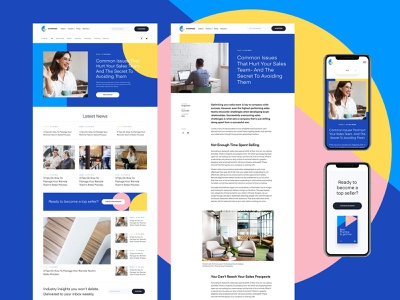 New Website for Overpass Blog Page | Saas, Sales, Marketplace website webdesign identity branding homepage article page blog salesforce sales marketplace saas