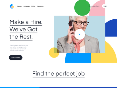 Feature's Page Design for new SaaS Website motion freelancers freelance saas marketplace idendity branding website webdesign
