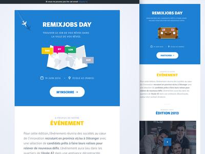 Newsletter/Email Design