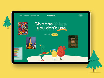 Homepage Motion typography branding illustrations characters pinterest feed homepage