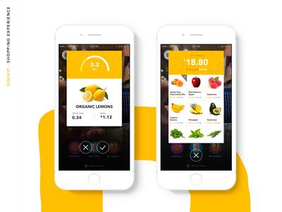 Food ios9 ios8 App Design
