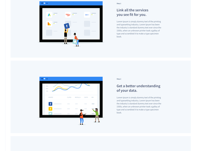 Singular Redesign | Saas | Analytics google illustration motion homepage