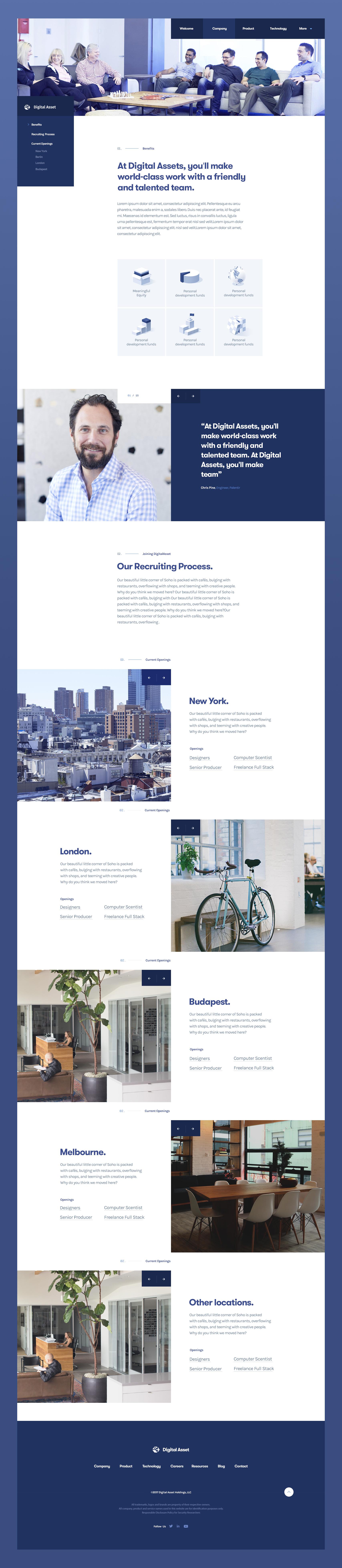 Digitalasset career page by julien renvoye
