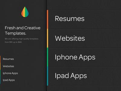 Homepage Design / UI design   themes texture website design homepage web design ui dark