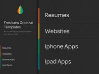 Homepage Design / UI design