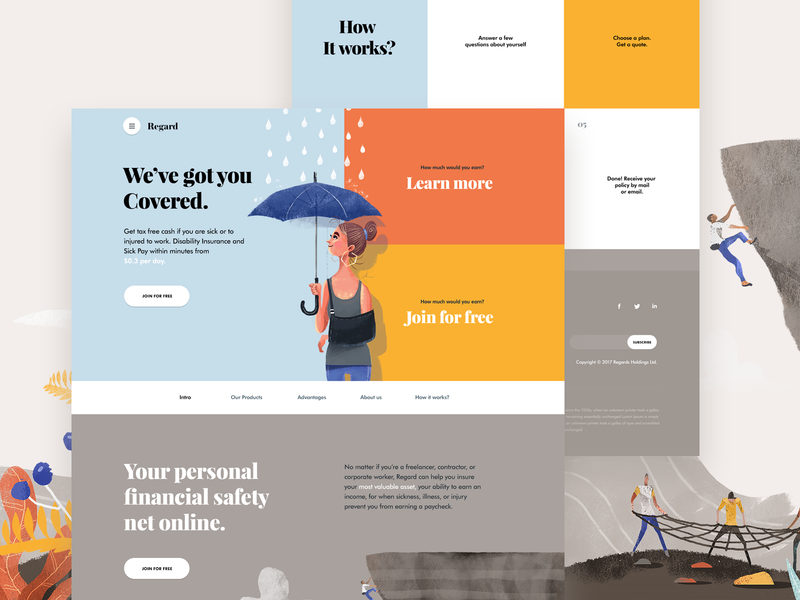 Homepage for a Saas, Healthcare startup illustrations landing page homepage saas healthcare