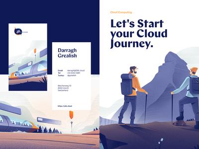 56k Cloud Branding / Illustrations