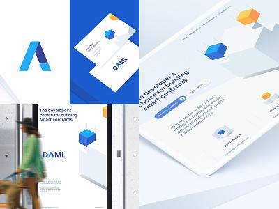 Branding for a Blockchain/Fintech startup identity logotype logo guidelines brand book billboards business cards website branding fintech blockchain