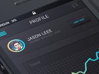 IOS 7 Flat app design