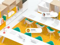 3D Scene for new website