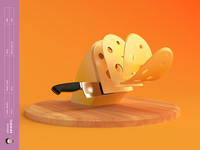 Cheese c4d