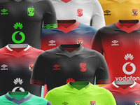 Umbro Ahly kits