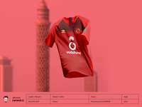 Ahly Kit 2019 Umbro Red