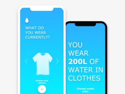 BluebenAppp clothes fashion landingpage website webdesign userinterface flat typography product web ux uidesign ui app design illustration icon branding
