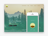 Forest AppLandingpage