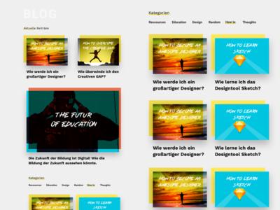 Bloglayout dailyuichallenge educational edu education onlineblog dailyui mag magazine webdesign design blog