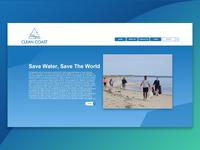 Clean Coast - User Interface Design