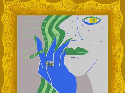 riche biche illustration