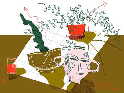 tumble/grow illustration
