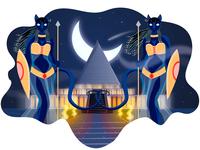 The Pharaoh's Palace Guard