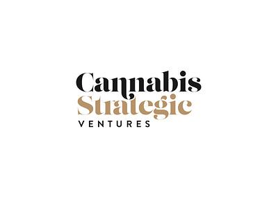 Cannabis Strategic Brand Identity typography design logo design branding identity logo
