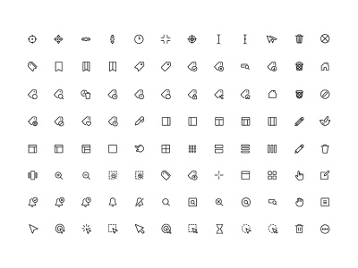 FREE Interface Essential Icons concept vector ux ui design illustration inspiration freebie free icons
