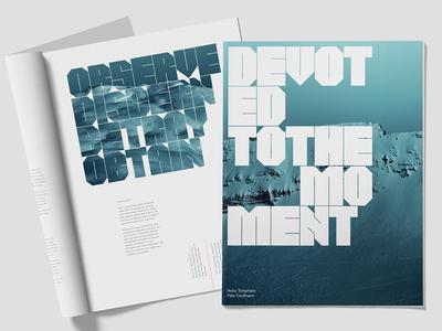 Gereon Display Typeface font branding art ux inspiration color typography design