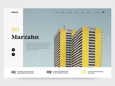Design for Splash Magazine flat vector bright compositing color interaction design branding concept typography inspiration interaction inteface web ui ux design