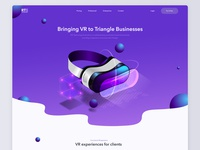 Landing page design for RTS Technology