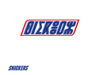 Snickers Amazigh letters