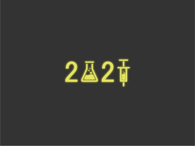 2021 glow blur 2021 cure yellow warm vector art design illustration wordart logo font ui flat illustration