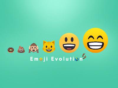 Emoji Evolution emoticon joypixel emoji