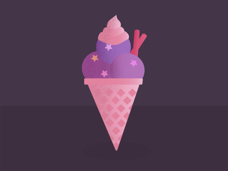 Something good: Ice-cream cone