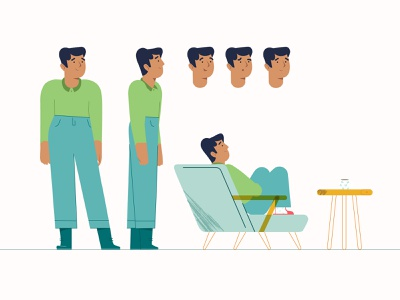 Namava character design illustration illustrator motiongraphics characterdesign character