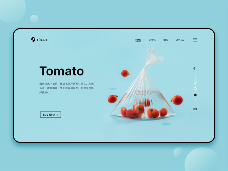 Fruit Series III web 2.0 blue tomato 设计 水果 新鲜
