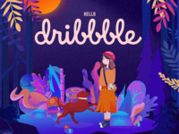 Hello Dribbble!  Happy Christams!