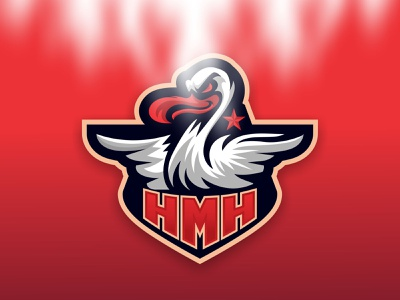 HMH Duck Mascot Logo pinterest duckvector drawing duck illustration esport vector mascot logo logo mascot
