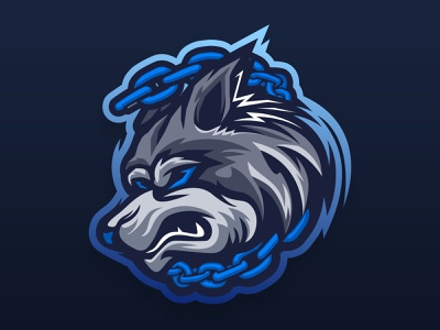 WOLF vector graphicdesign angry wolf logoteam logo esport mascotlogo logo head wolf