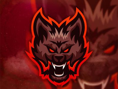 Head Logo Wolf wolf design mascotlogo illustration mascot logo esport vector mascot logo