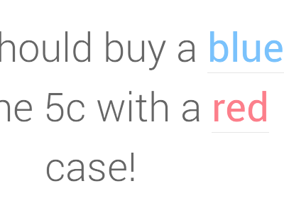 Which iPhone 5c Color Should I Buy? side project web design ui roboto colors iphone5c iphone
