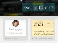 Redesigning Website, Work area :D