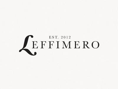 Leffimero logo design