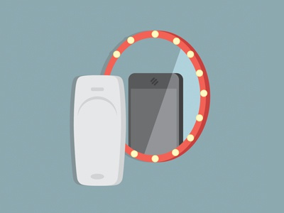 mirror mobile mirror change iphone nokia