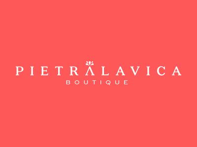 PL stone volcano lava boutique logo