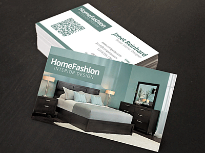 Home interior business card photoshop template by derek dribbble dribbble for Interior designers business cards