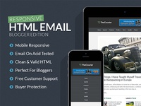 Responsive Blogger Email Template