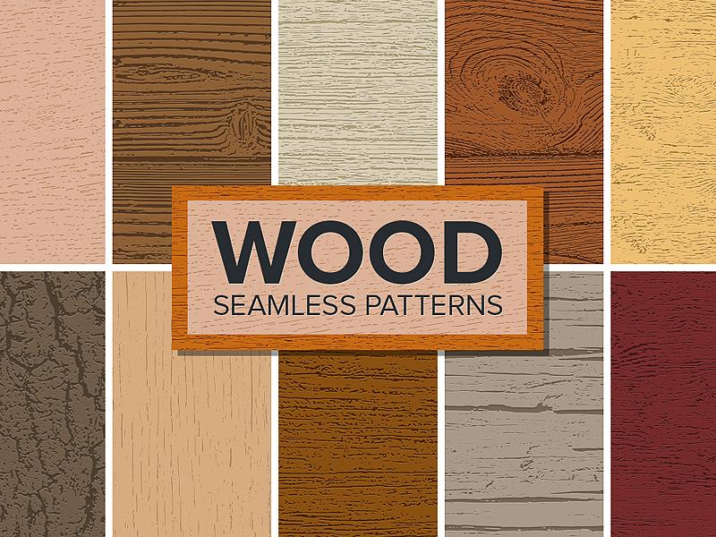 Wood Seamless Patterns bark grains grain pattern seamless wooden wood