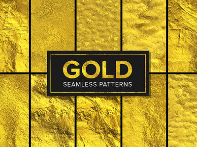 Gold Seamless Pattern Collection